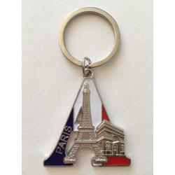 Porte clef métal Paris Tour...