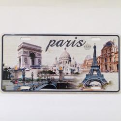 Plaque américaine Paris...