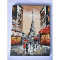 Tableau Paris Tour eiffel...