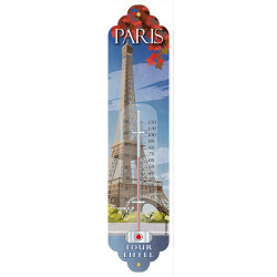 Metal thermometer Paris...