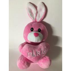 Plush rabbit Paris Tour Eiffel